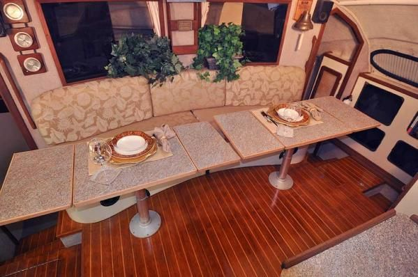 Preowned Sail Catamarans for Sale 1994 Renaissance Layout & Accommodations